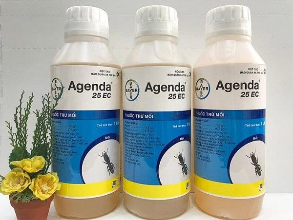 Agenda 25EC diệt mối công trình