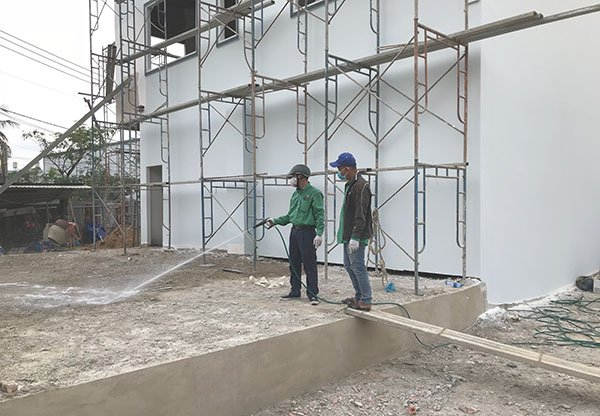 Giá phòng chống mối xây dựng thay đổi theo diện tích