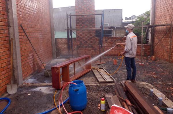 phòng mối cho công trình tại Đồng Nai