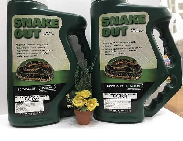 Snake Out - Chế phẩm xua đuổi rắn